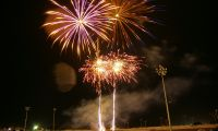 Fireworks at the Wagga Wagga Show