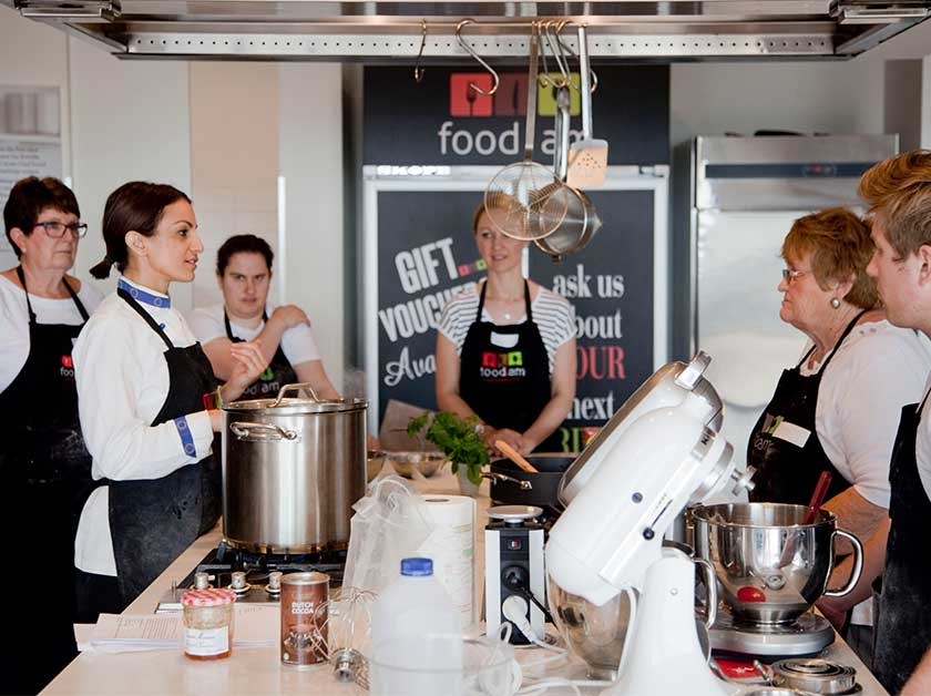Image: Food I Am Cooking School