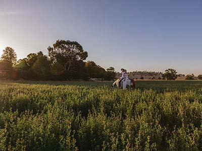 Events on the River event venue near Wagga Wagga