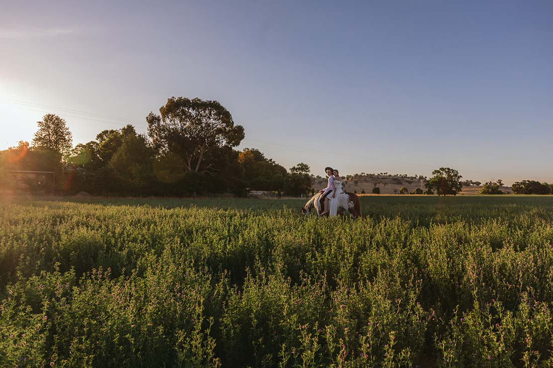 Wedding at Events on the River in Wagga Wagga