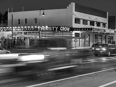 Thirsty Crow event venue in Wagga Wagga