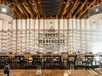 Uneke Warehouse event venue in Wagga Wagga