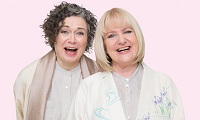 Judith Lucy & Denise Scott at the Wagga Civic Theatre