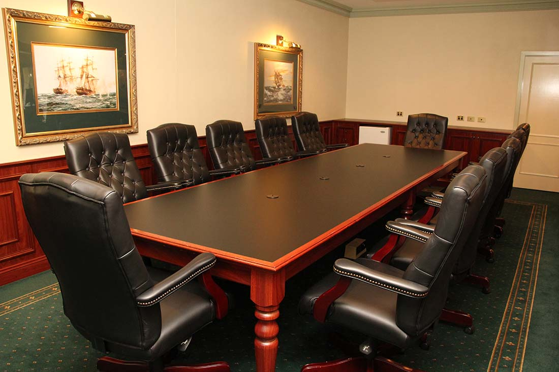 Boardroom setup at The Lawson Motor Inn in Wagga Wagga