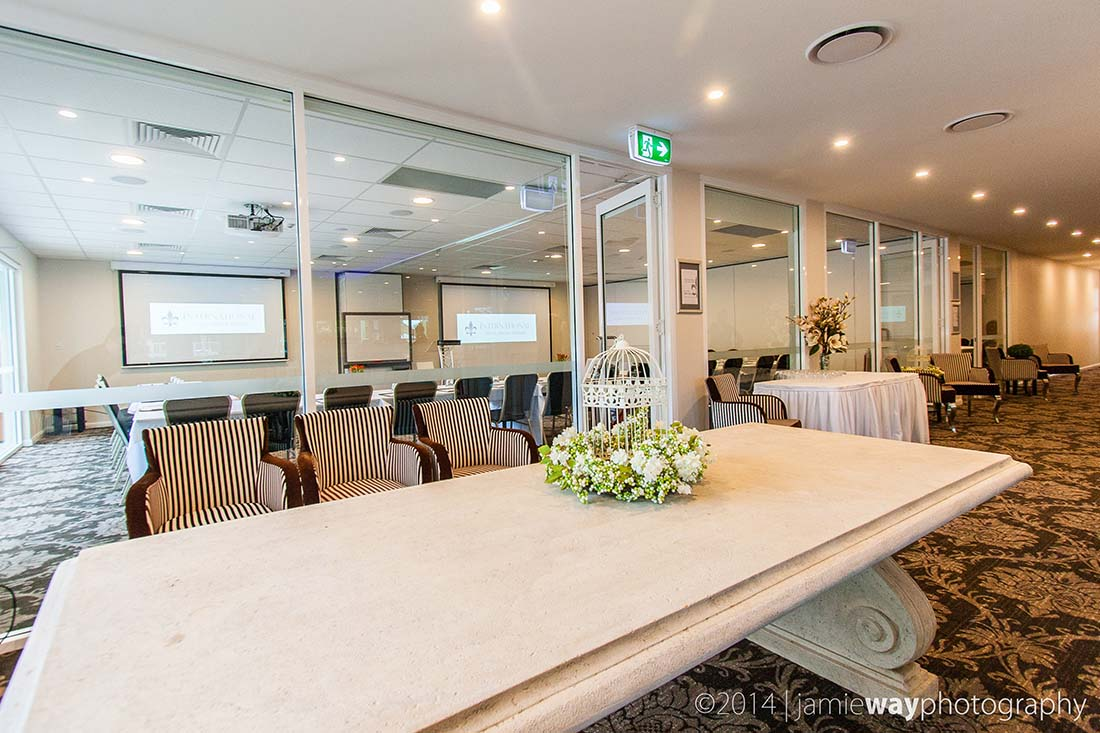 Function rooms at the International Hotel in Wagga Wagga