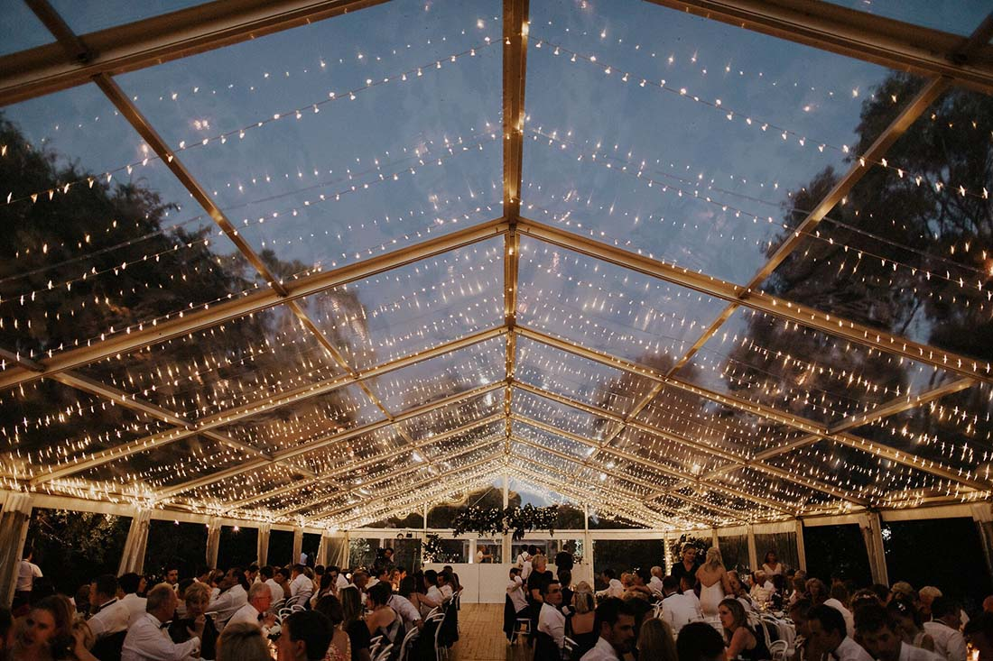 White Top Venues marquee venue near Wagga Wagga