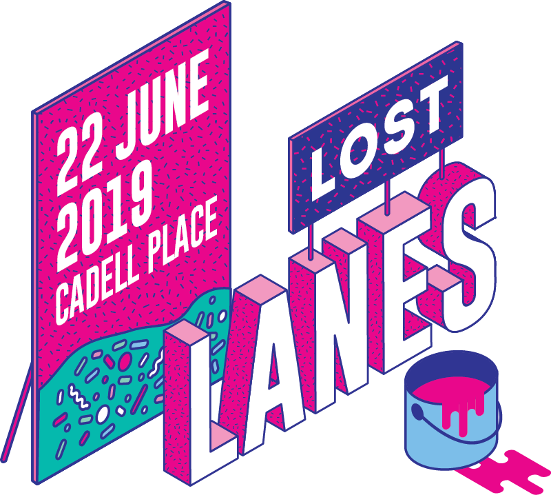 Lost Lanes Title Treatment