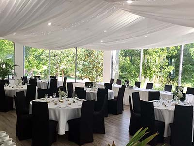 Elements at the Gardens event venue in Wagga Wagga