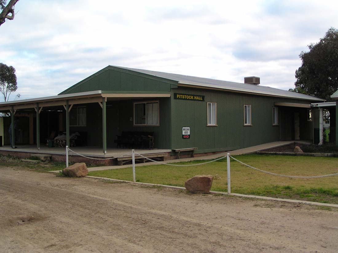 Buildings at Camp Kurrajong Scout Camp near Wagga Wagga