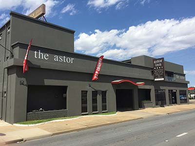 Astor Inn event venue in Wagga Wagga