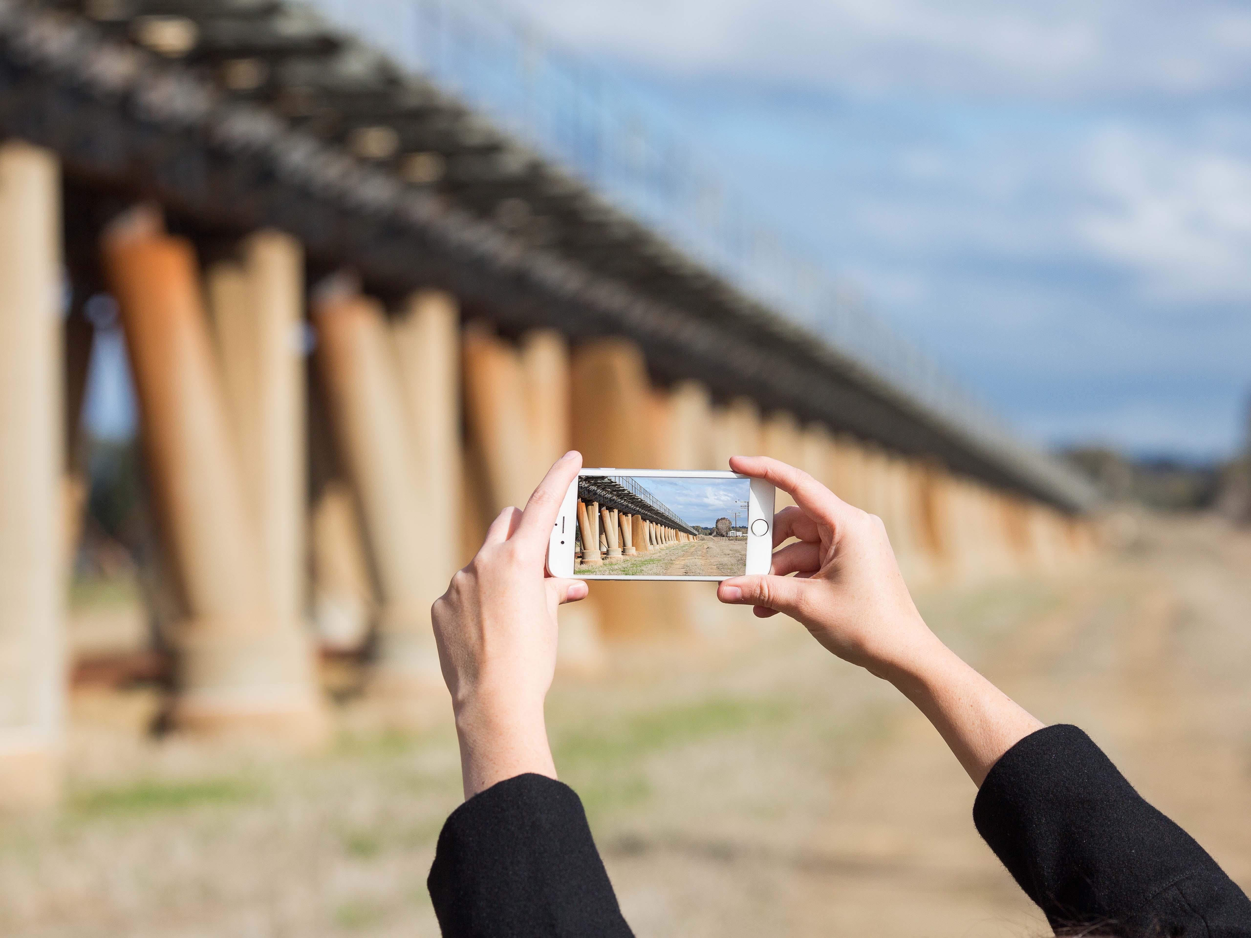 Viaduct in North Wagga