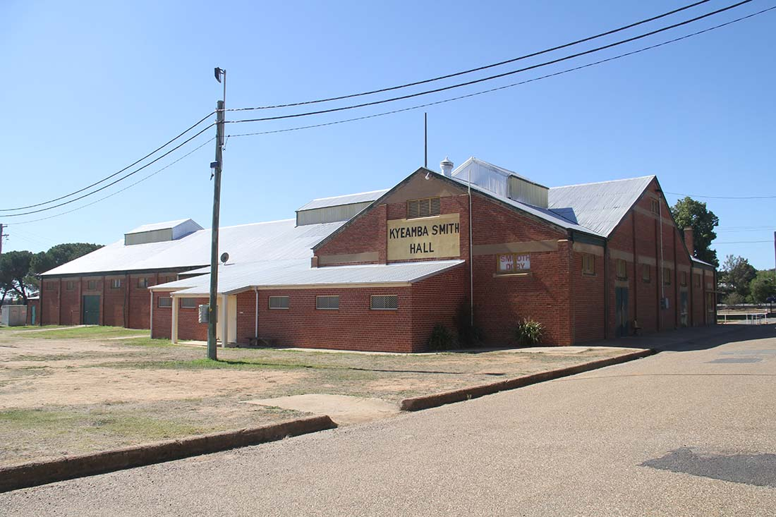 Kyeamba Smith Hall at the Wagga Wagga Showground