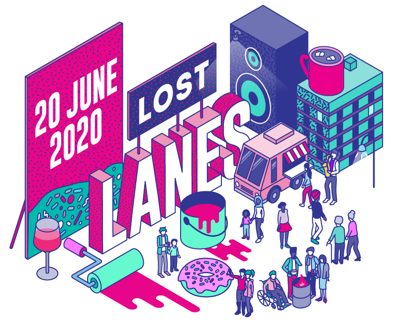 Lost Lanes Homepage Save the Date