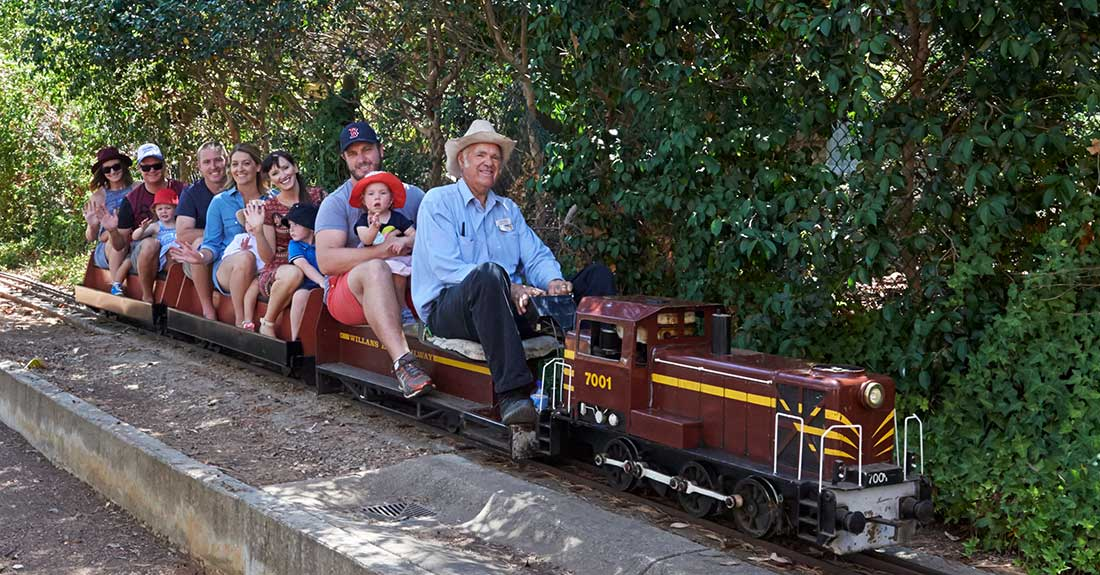 Willans Hill Miniature Railway Invitational Run