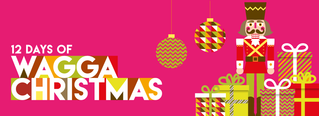 12 Days of Wagga Christmas banner