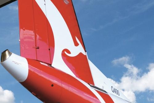 QantasLink plane, Wagga Wagga