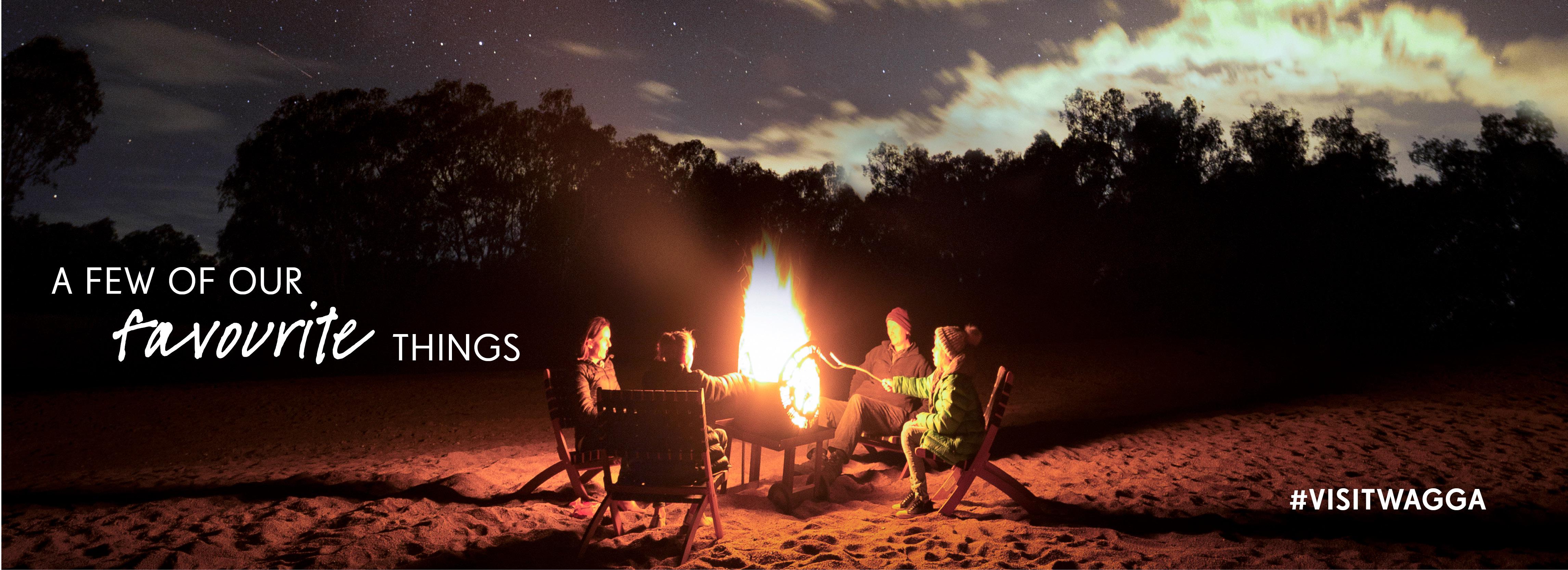 Beach camping in Wagga Wagga