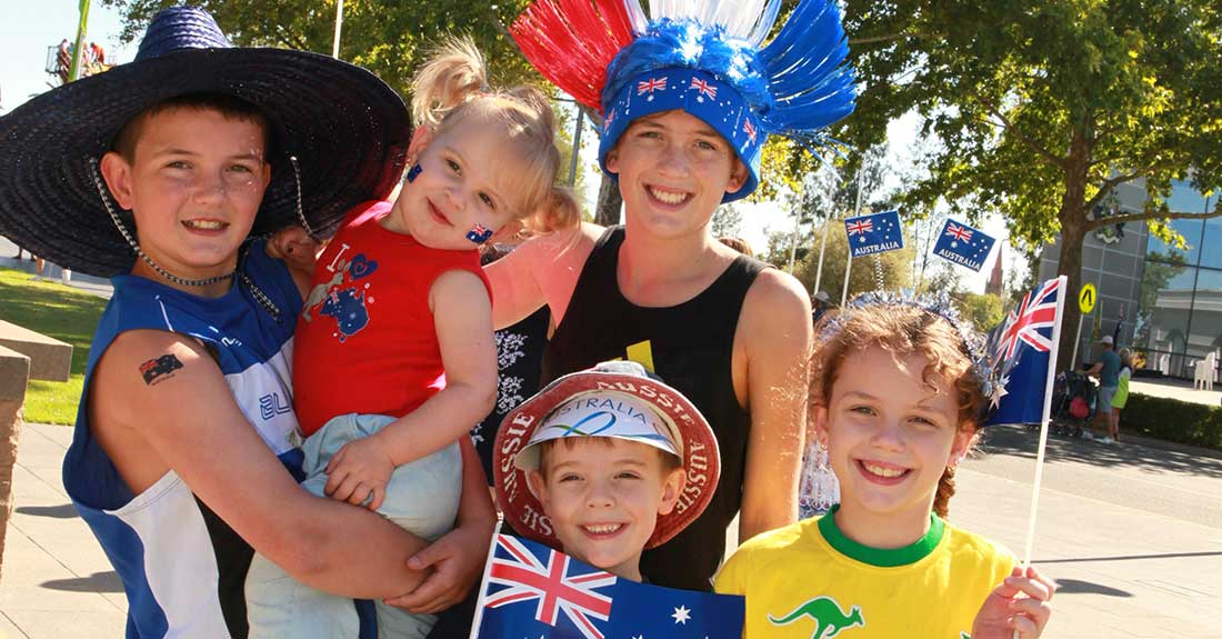 Australia Day in Wagga Wagga