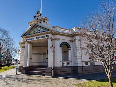 Museum of the Riverina Historic Council Chambers site event venue in Wagga Wagga