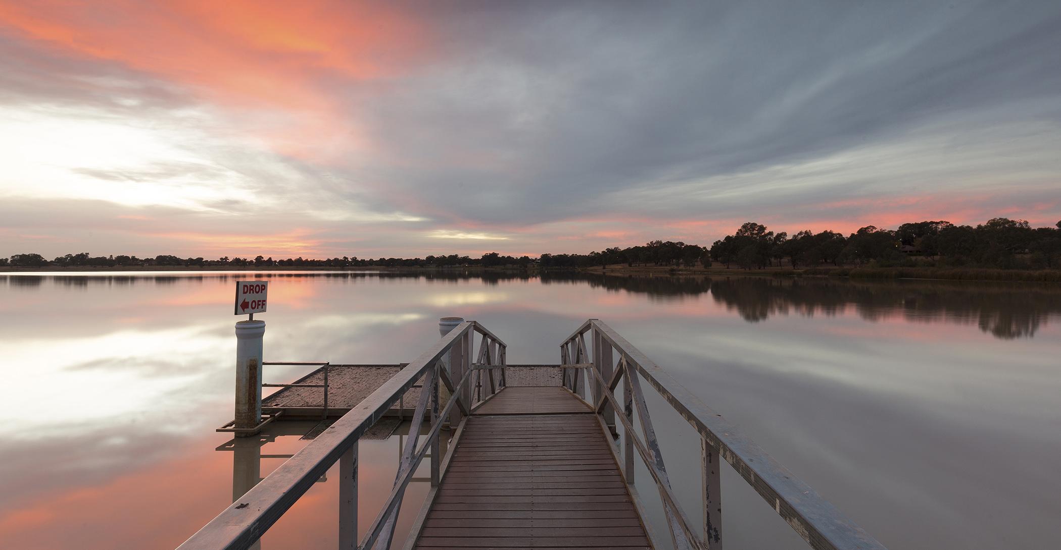 Lake Albert boat ramp in Wagga Wagga