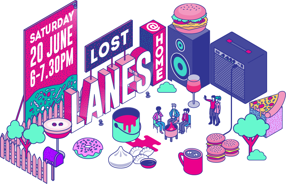 Lost Lanes at Home