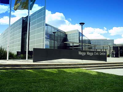 Wagga Wagga Civic Centre event venue in Wagga Wagga